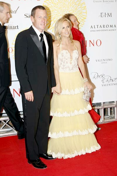 Another Hollywood Break Up, Lance Armstrong and Designer Girlfriend Tory Burch