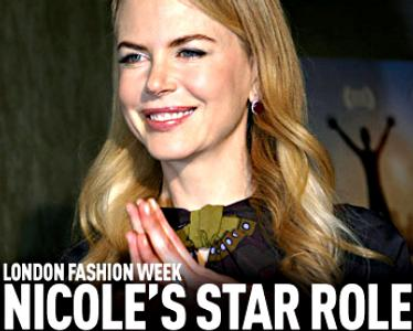 Actress Nicole Kidman About to Make Her Catwalk Debut, But Only Virtually