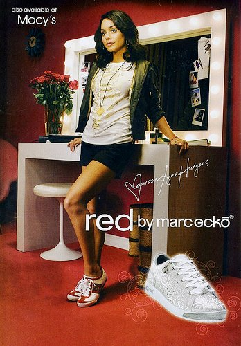 Red by Marc Ecko Starring Vanessa Hudgens