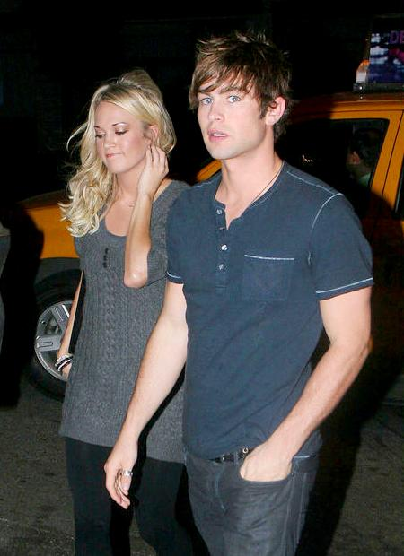 Carrie Underwood and Chace Crawford, Their Dinner Date