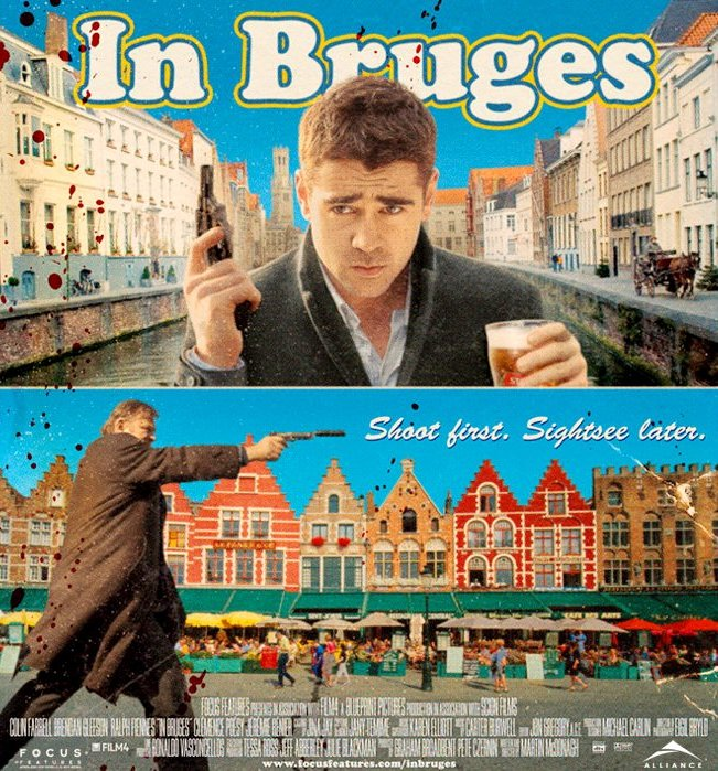Colin Farrell's In Bruges Gets Initial Trailer Unveiled
