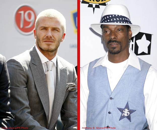 David Beckham to Rap on Snoop Dogg's New Album?