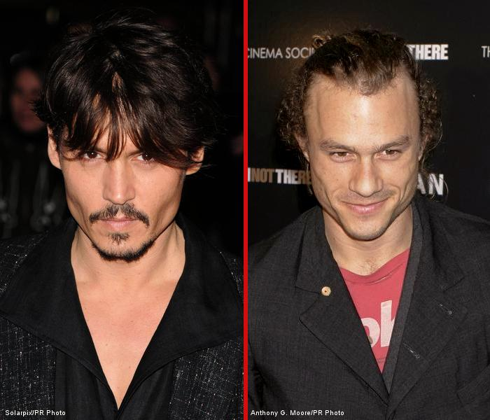Johnny Depp to Replace Heath Ledger in 'Dr Parnassus'?