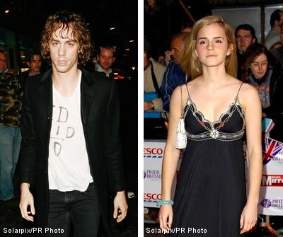 Harry Potter Star Emma Watson Stepped Out with Razorlight Notorious Rocker Johnny Borrell