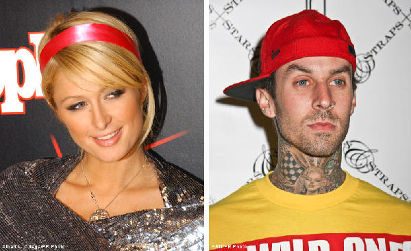 Paris Hilton and Travis Barker Hooked Up, Again
