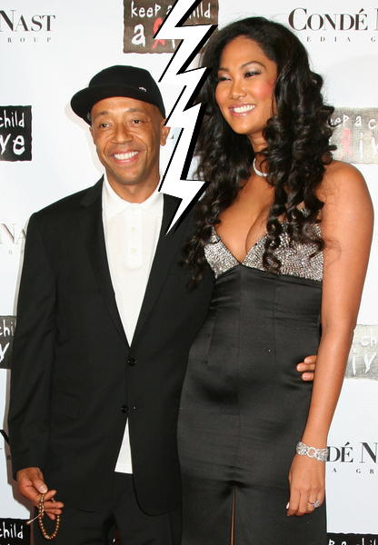 Kimora Lee Simmons Officially Filed for Divorce from Russell Simmons
