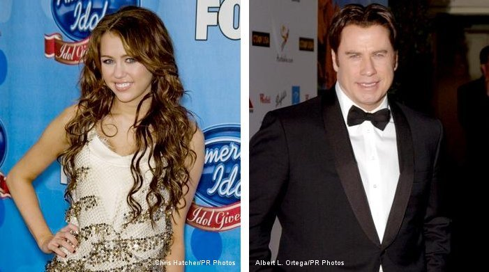Miley Cyrus Being John Travolta's Human Co-Star in 'Bolt'