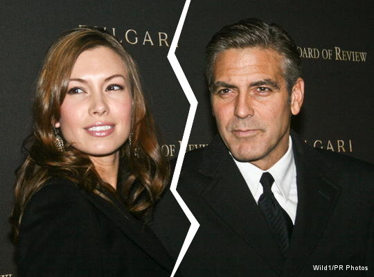 George Clooney Split Up with Girlfriend Sarah Larson