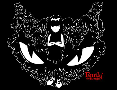 Sticker Character 'Emily the Strange' Adapted to Movie