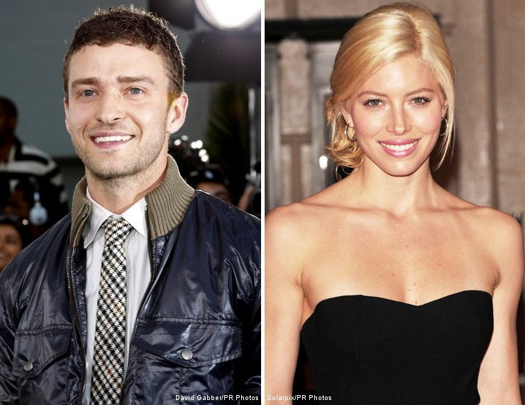 finally on the card for Justin Timberlake and girlfriend Jessica Biel?