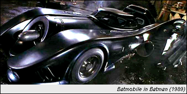 Batmobile in Batman (1989)