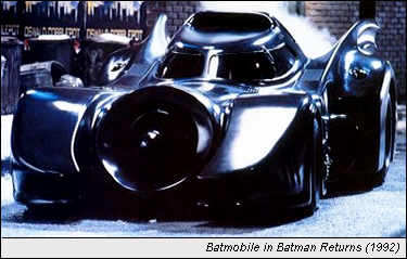 Batmobile in Batman Returns (1992)