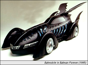 Batmobile in Batman Forever (1995)