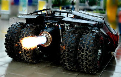 The Tumbler - Batmobile in The Dark Knight