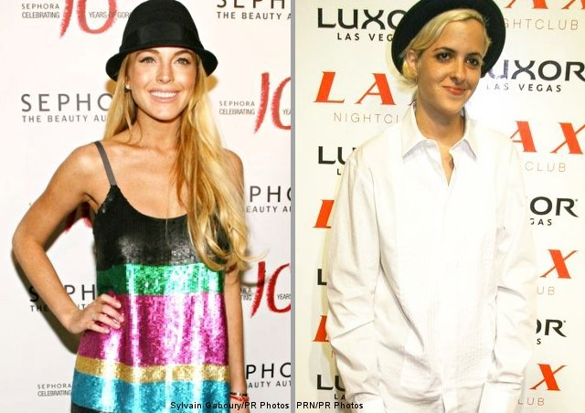 Lindsay Lohan and Samantha Ronson Get Matching Tattoos