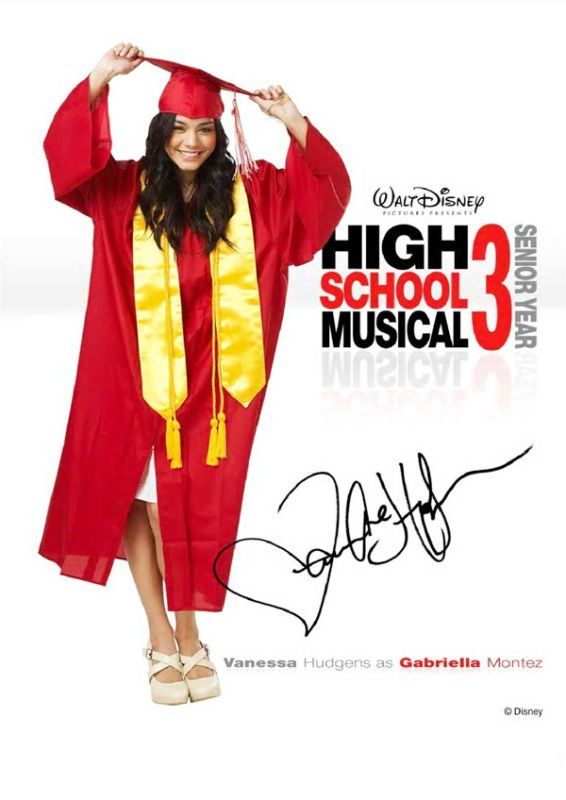 Four More Character Posters of 'High School Musical 3: Senior Year' Shared