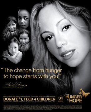 Mariah Carey Signs On as Global Ambassador for Hunger Relief Charity