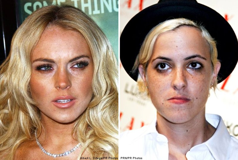 Lindsay Lohan and Samantha Ronson's Romantic Break in Mexico