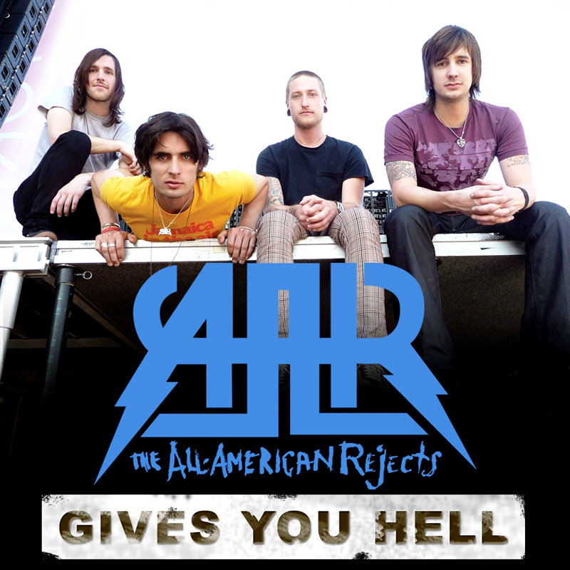 Teaser of The All-American Rejects' 'Gives You Hell' Video