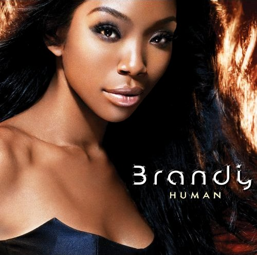 Brandy's Official Cover Art for 'Human'