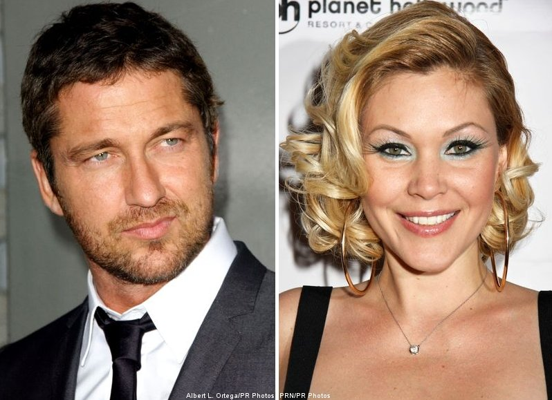 Gerard Butler and Shanna Moakler Spotted Kissing and Cuddling, the Video