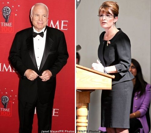 John McCain and Sarah Palin Sign for First Interviews Post Election
