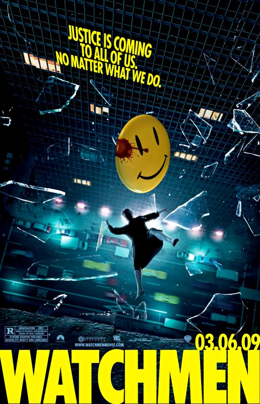 New Trailer of 'Watchmen' Arrives