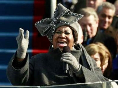 Video: Aretha Franklin Sang 'My Country 'Tis of Thee' at Barack Obama's Inauguration