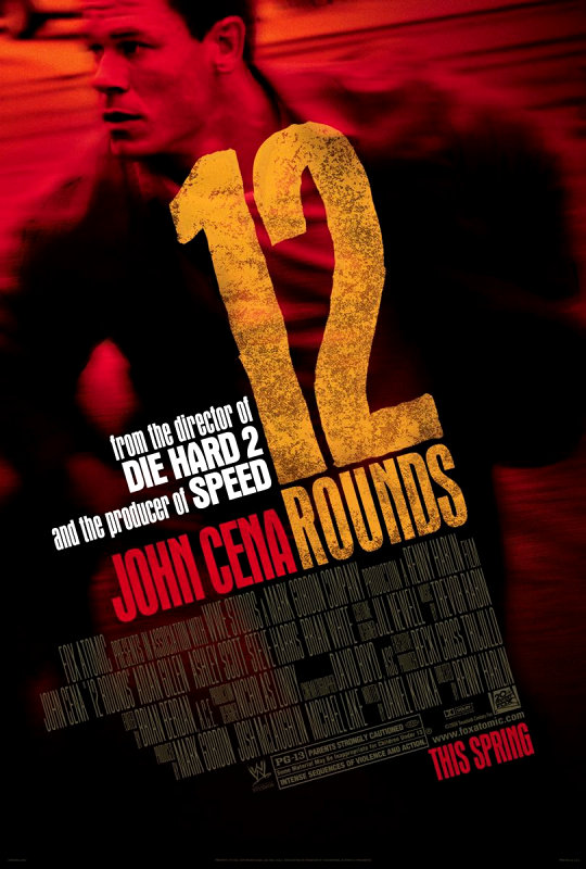 Second Intense Trailer of John Cena-Starring '12 Rounds'