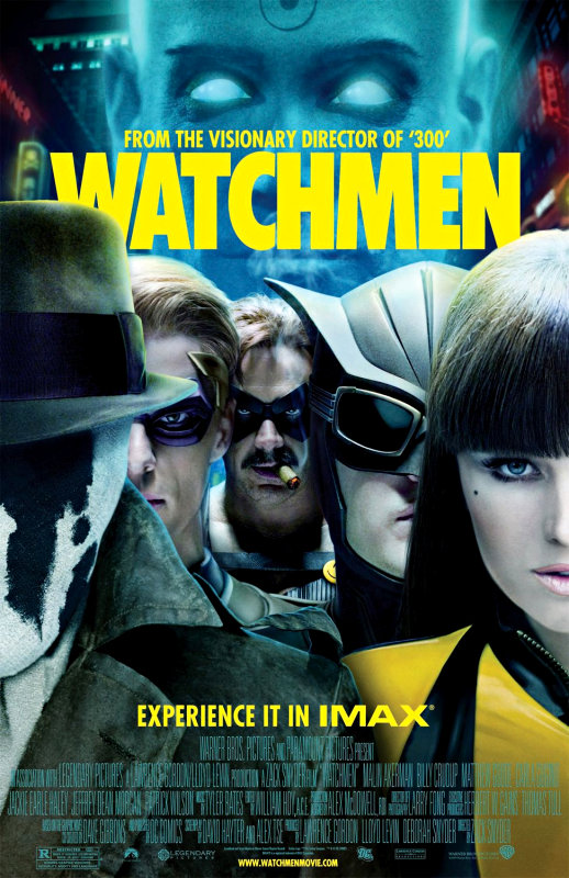 Differences of 'Watchmen' Graphic Novel and Film Discussed