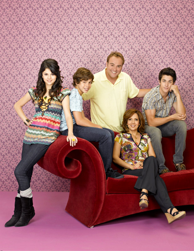 """Wizards of Waverly Place"" which is starring Selena Gomez as the middle of"