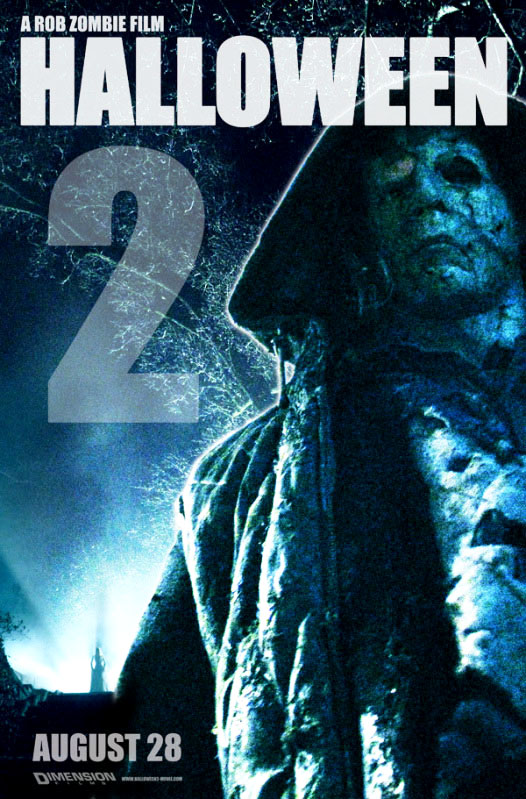 New Poster of 'H2: Halloween 2' and Update by Rob Zombie
