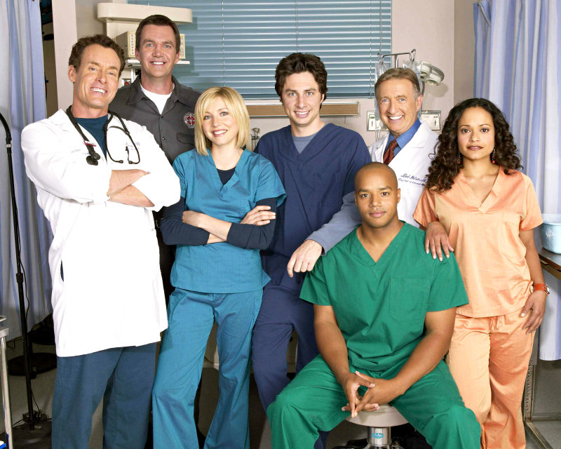 'Scrubs' Locked for 9th Season With Zach Braff and Sarah Chalke
