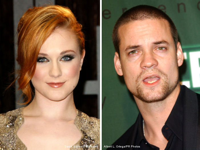 Evan Rachel Wood Seen Making Out With Actor Shane West