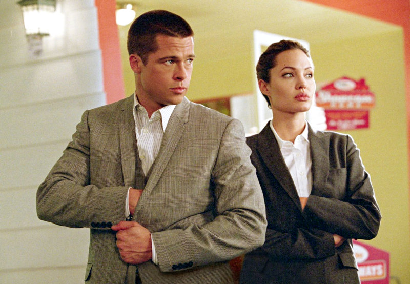 Angelina Jolie and Brad Pitt Eye to Be 'Mr and Mrs Smith' Again