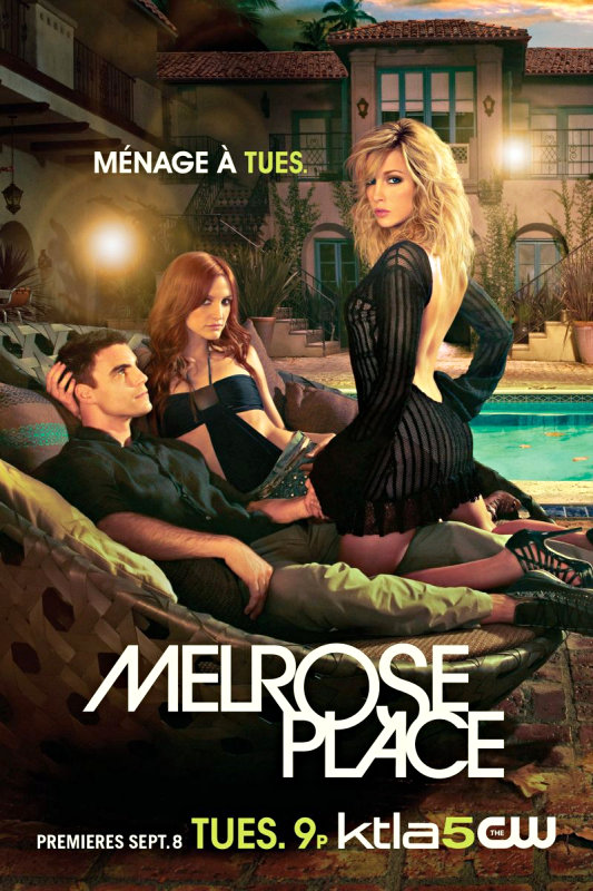 Hot New Posters of 'Melrose Place'