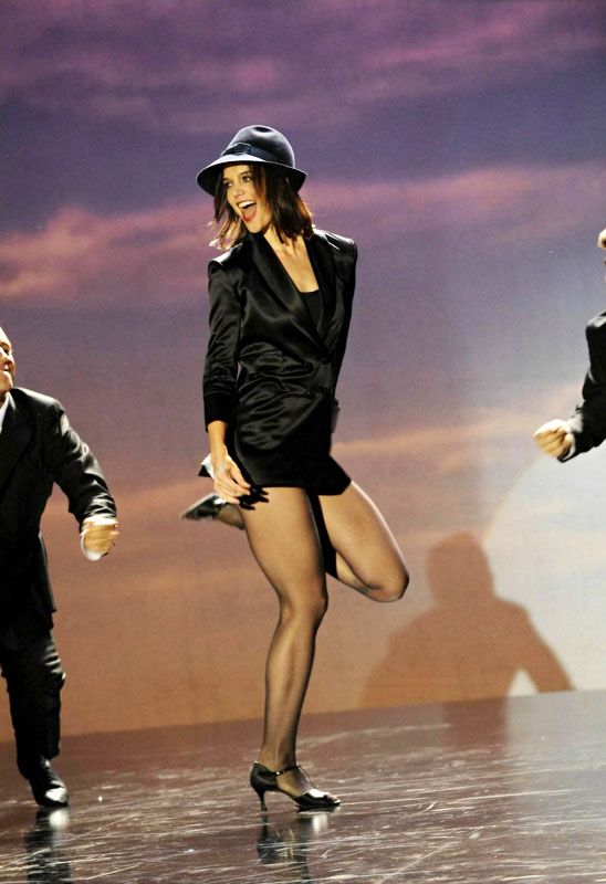 Video: Katie Holmes' Performance on 'So You Think You Can Dance'