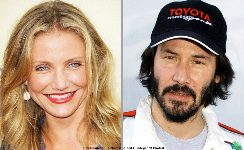 Cameron Diaz Said Enjoying a Date With Keanu Reeves