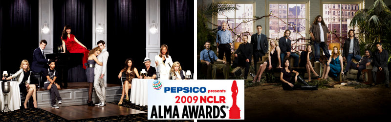 2009 ALMA Awards Honorees in TV