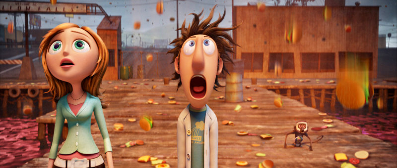 'Cloudy with a Chance' Rolls to Top North American Box Office