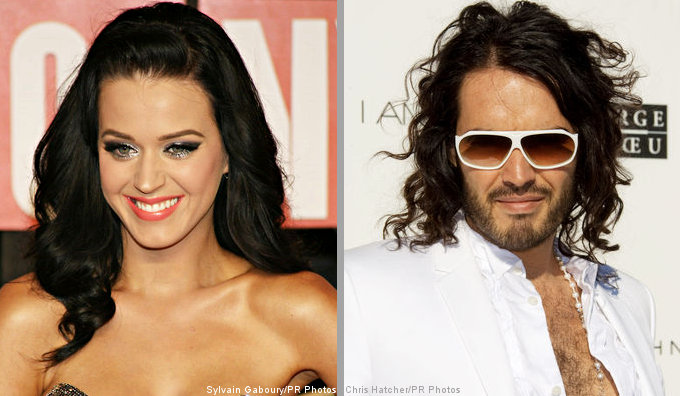 Katy Perry and Russell Brand Said Hooking Up in Thailand and London