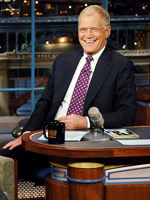 David Letterman Apologizes to Wife During Monologue