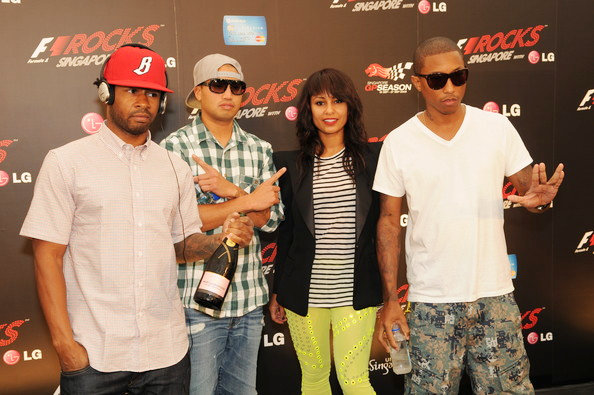 Pharrell Williams Confirms Rhea as N.E.R.D's New Member
