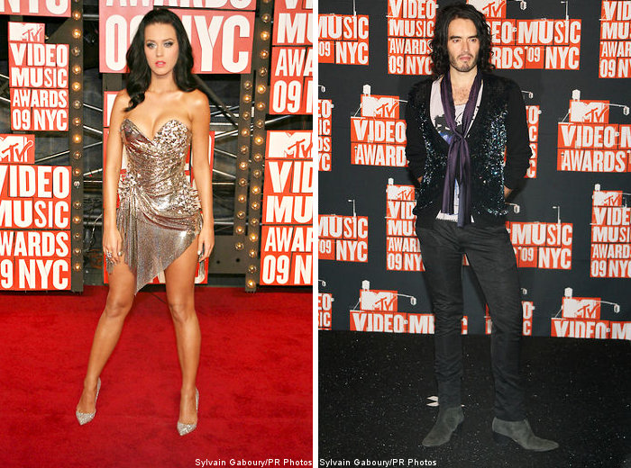 Katy Perry and Russell Brand Make Their Debut as a Couple