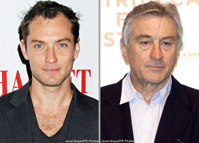 Jude Law and Robert De Niro Possibly Cast in 'Thor'