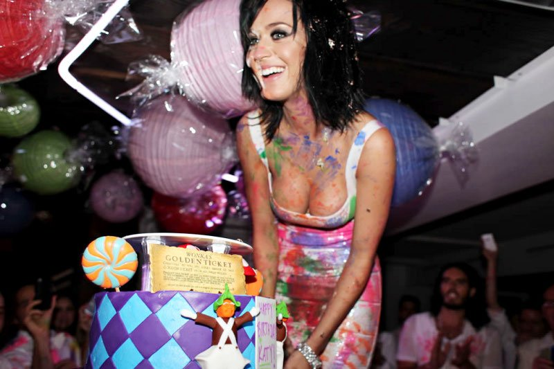 Inside Katy Perry's 25th Birthday Party