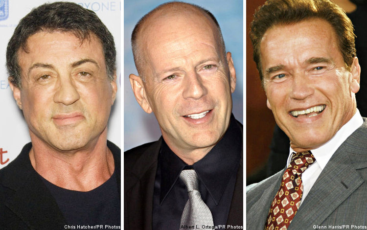 'The Expendables': Details on Bruce Willis and Arnold Schwarzenegger's Shooting