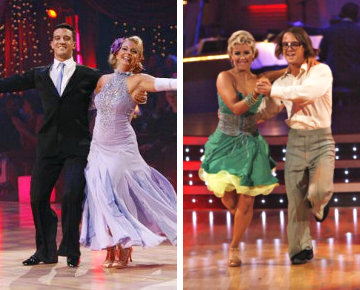 Melissa Joan Hart and Louie Vito Eliminated From 'DWTS'