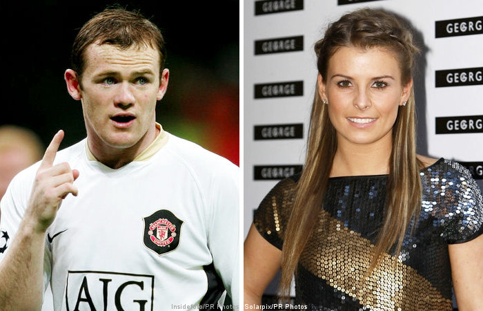 Wayne Rooney And His Wife
