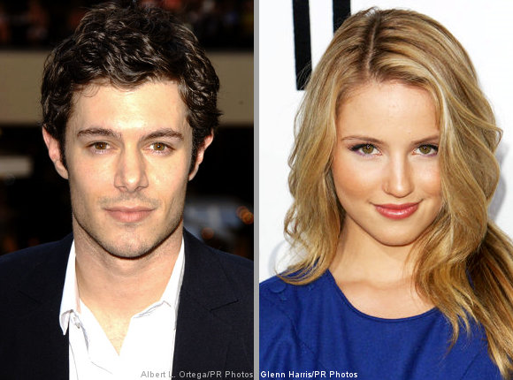 dianna agron with boyfriend. Adam Brody Rumored Dating 'Glee' Actress Dianna Agron